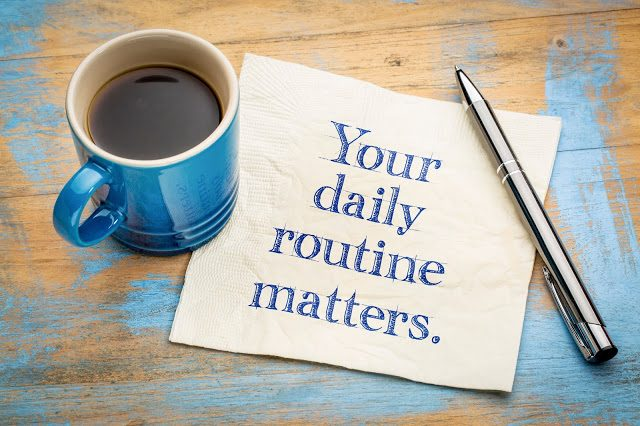 Adapting a New Normal Daily Routine