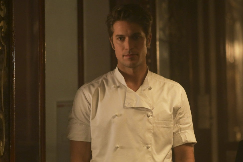 Emily in Paris hot chef