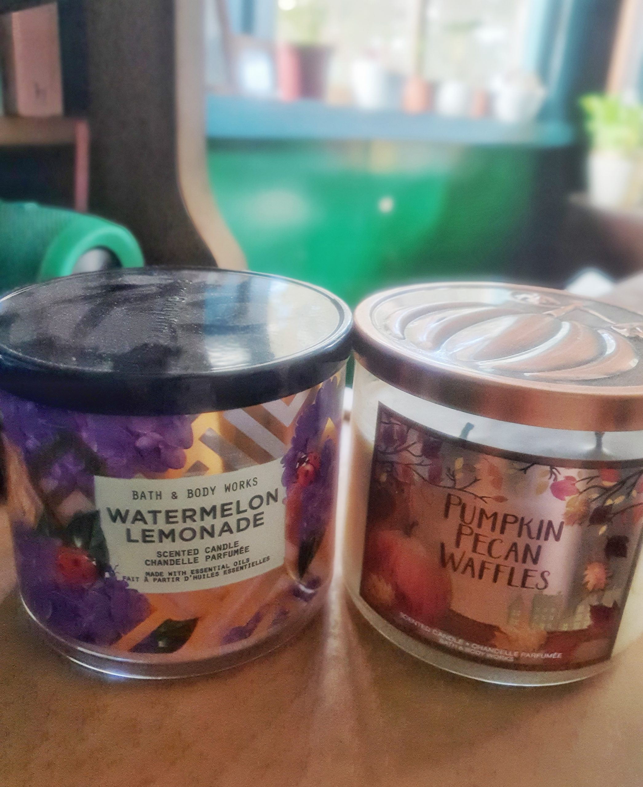 january wrapup: scented candles are love