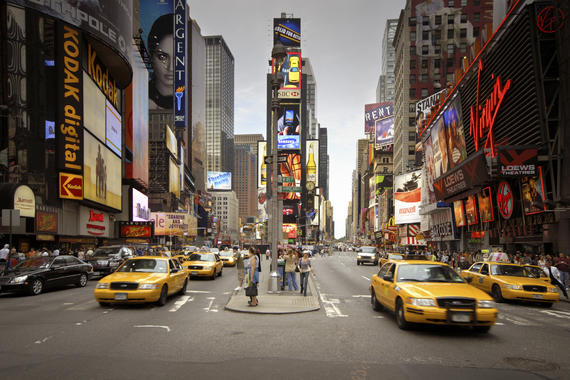 New York city times square is on my travel bucket list